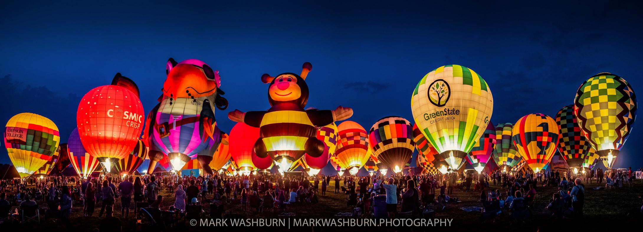 Night glow balloons 21 2